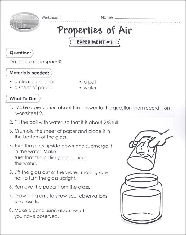 Properties Of Air Worksheet Class Grade 2 Science Science