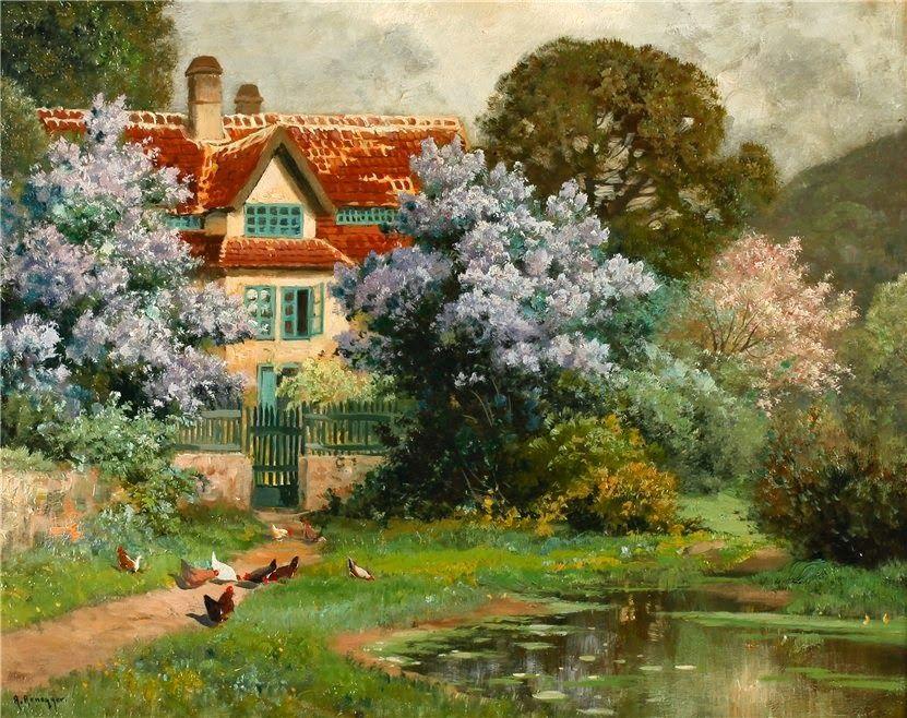7 das Artes: Casas antigas retratadas ao estilo pessoal de cada artista.