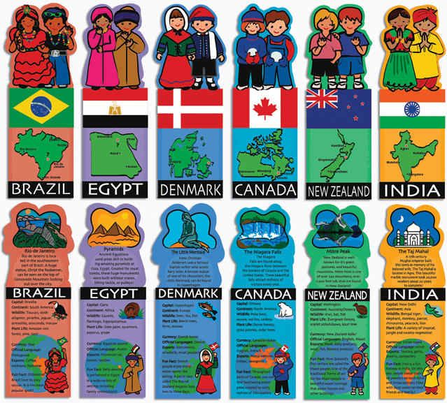 Kids Around The World Flashcards