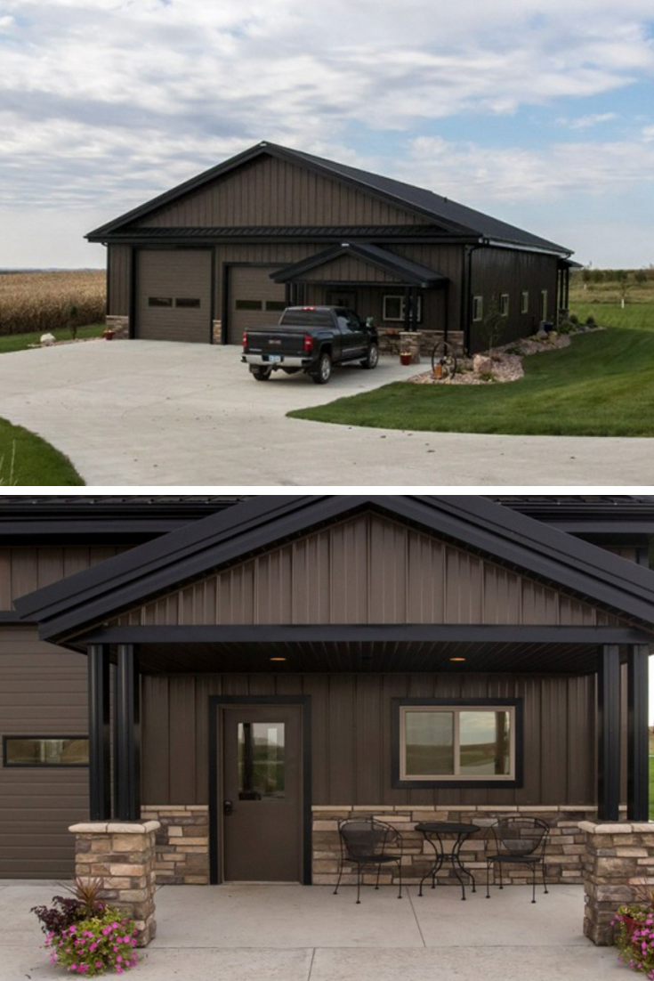 Pin By Jhg On Shop Add Ons Steel Building Homes Barn House