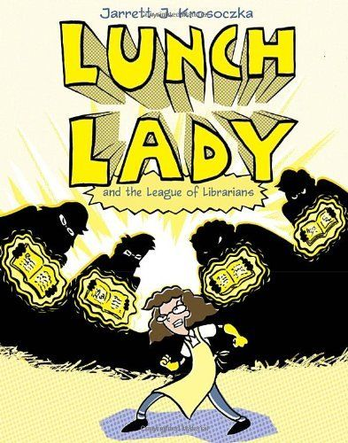 Lunch Lady and the League of Librarians: Lunch Lady #2:Amazon:Books