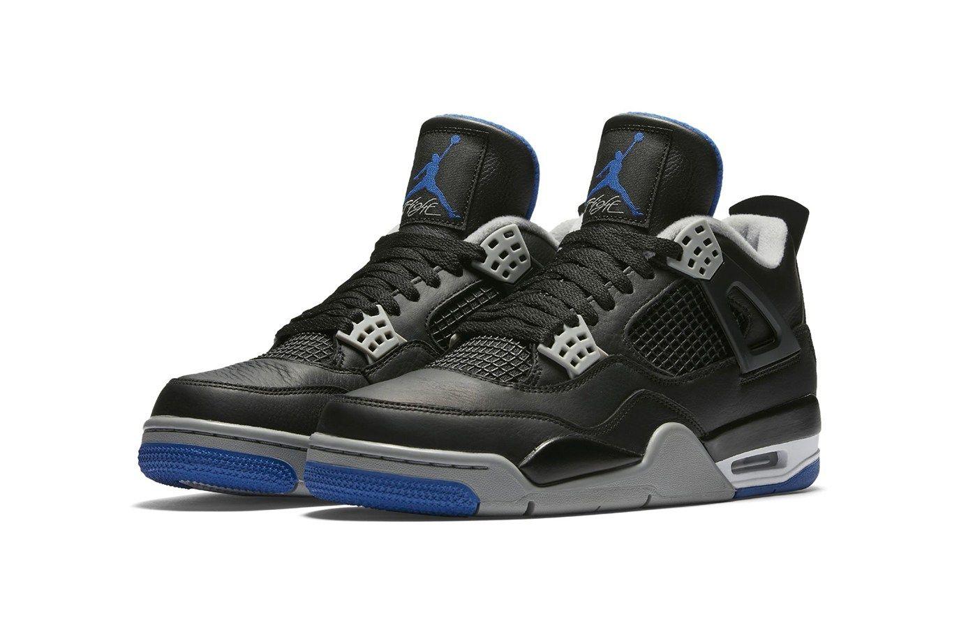 "The Air Jordan 4 Gets the ""Royal"" Colorway"