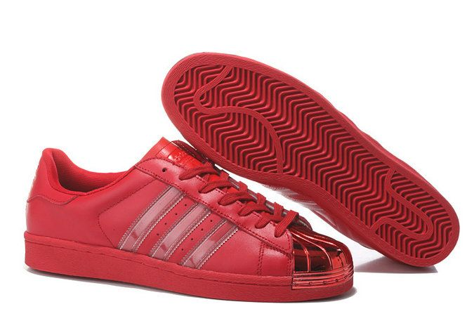detailed pictures new products designer fashion Rio Red Metal Toe Superstar Supercolor | Popular shoes, Superstar ...