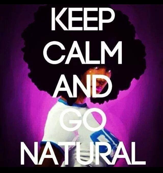 Love my natural!