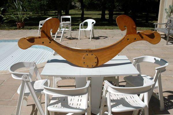 balan oire artisanale chevaux bascule bois occasion en france pinterest bascule. Black Bedroom Furniture Sets. Home Design Ideas