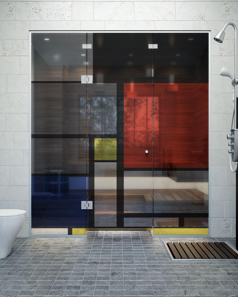 14个分隔空间的办法in 2020 Glass Printing Internal Design Glass