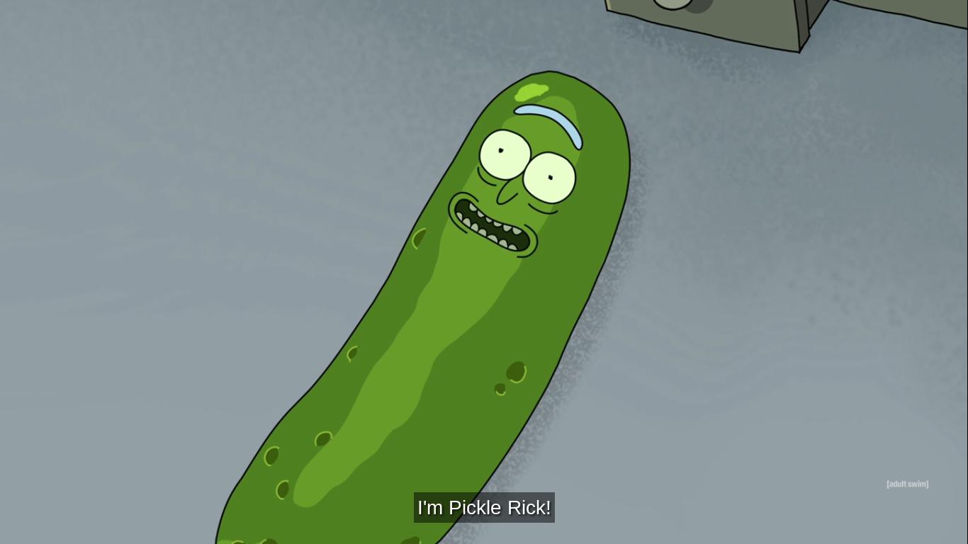 I M Pickle Rick Rick Y Morty Rick Y Ilustraciones
