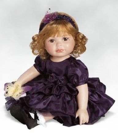 Amazon.com: Collectible Doll by Marie Osmond, Paradise Butterfly Rose, 20-inch Porcelain: Toys & Games