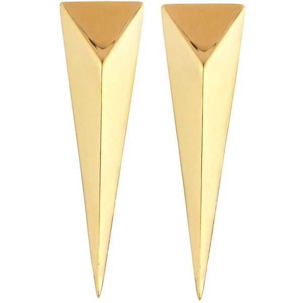 Mimi So Stinger Studs 18K Gold Earrings Azz09