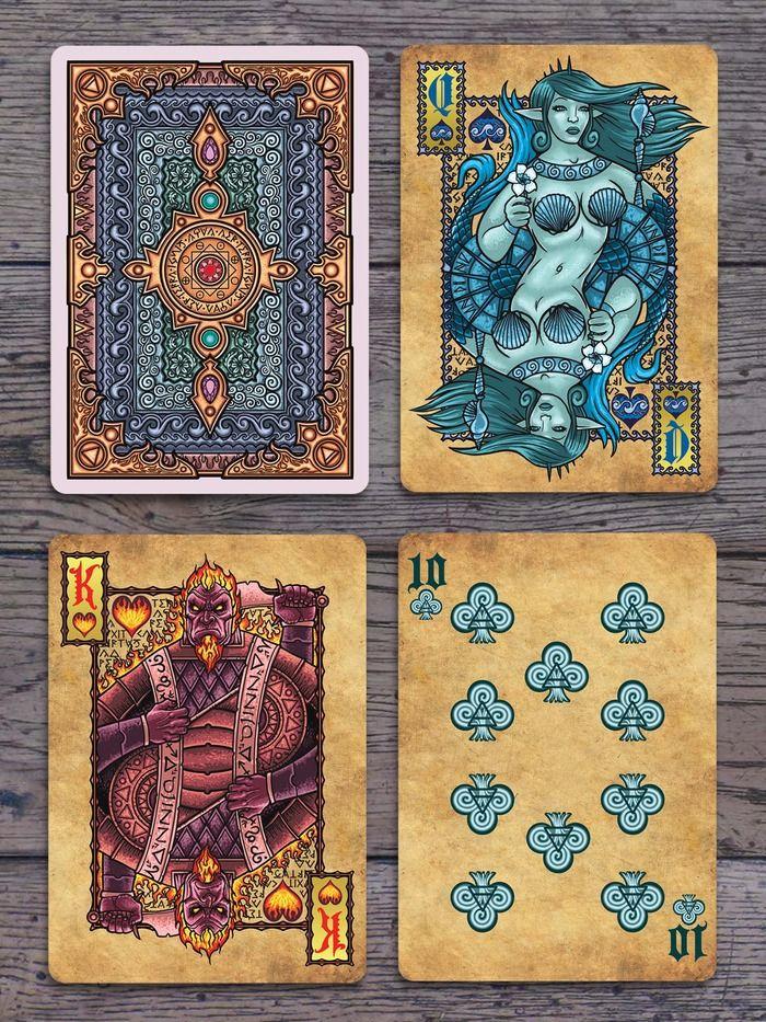 Grimoire Series, Elemental Magick Deck