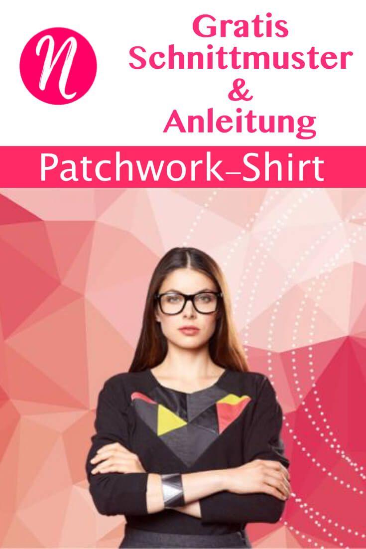 Patchwork-Pulli für Damen - Raglan-Schnitt | Raglan, Besuchen und ...