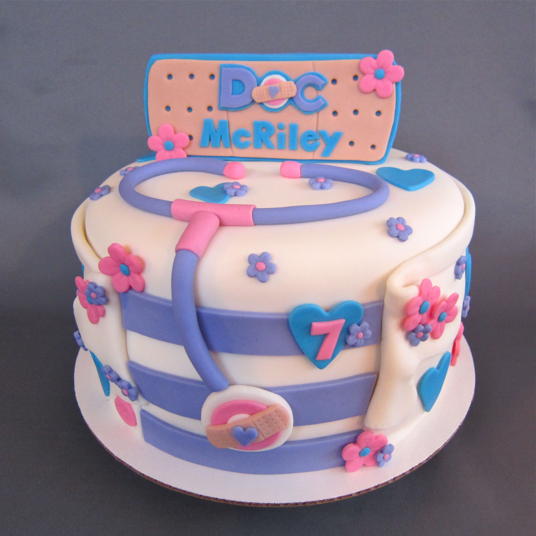 Wondrous Doc Mcstuffins Inspired Birthday Cake Doc Mcstuffins Birthday Funny Birthday Cards Online Inifodamsfinfo