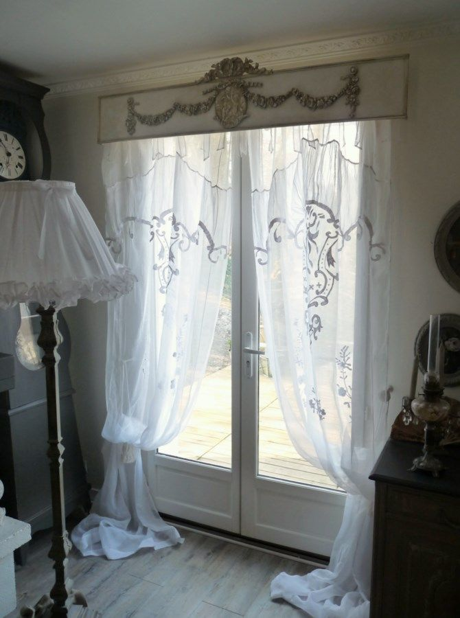 le monde de rose bijoux de fen tres et ciel de lit vorh nge gardinen fensterdeko. Black Bedroom Furniture Sets. Home Design Ideas