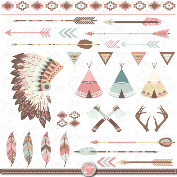 Tribal Clipart pack