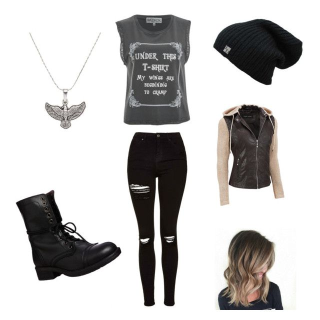 """""""Maximum Ride inspired"""" by piper-staunton on Polyvore featuring Wildfox, Topshop, Steve Madden and Alex and Ani"""