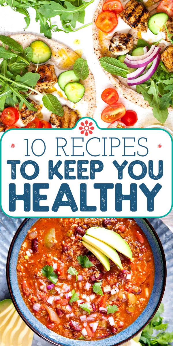 10 Recipes To Keep You Healthy Simplyrecipes Com In 2020 Recipes Healthy Healthy Eating Recipes