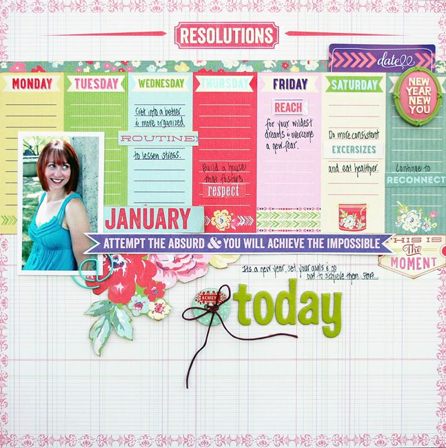 #scrapbook #layout Websters Pages