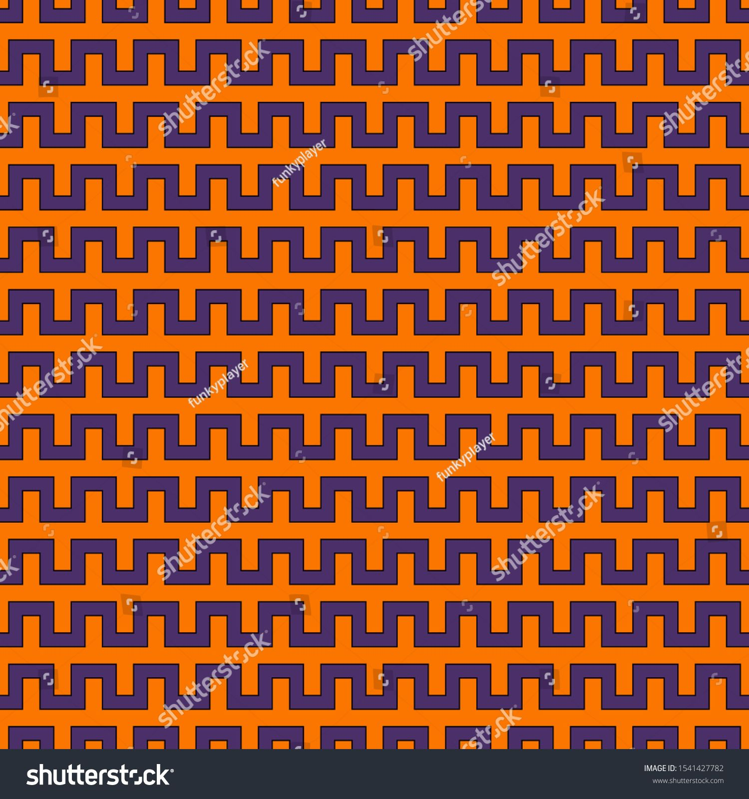 Halloween background. Seamless pattern in holiday traditional colors. Wavy diagonal striped wallpaper. Holiday scrapbook digital paper, textile print, page fill. Vector illustration #Ad , #Sponsored, #colors#traditional#Wavy#striped #halloweenbackgroundswallpapers