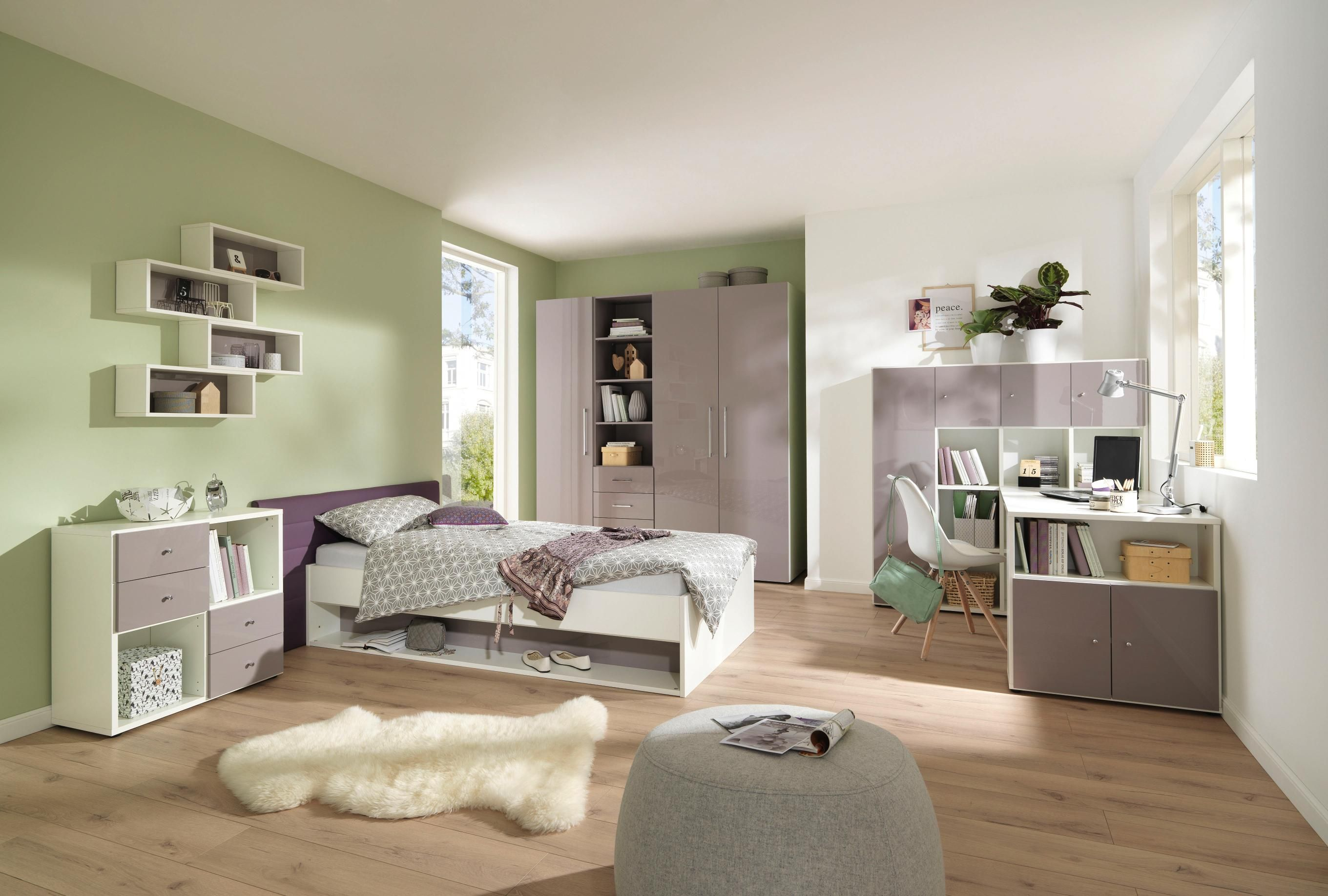 Jugendzimmer welnova kinder und jugendzimmer pinterest for Jugendzimmer fur 2 kinder
