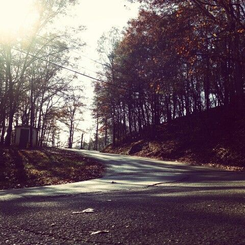 Climbing Airport Road, Rockwood, Tennessee