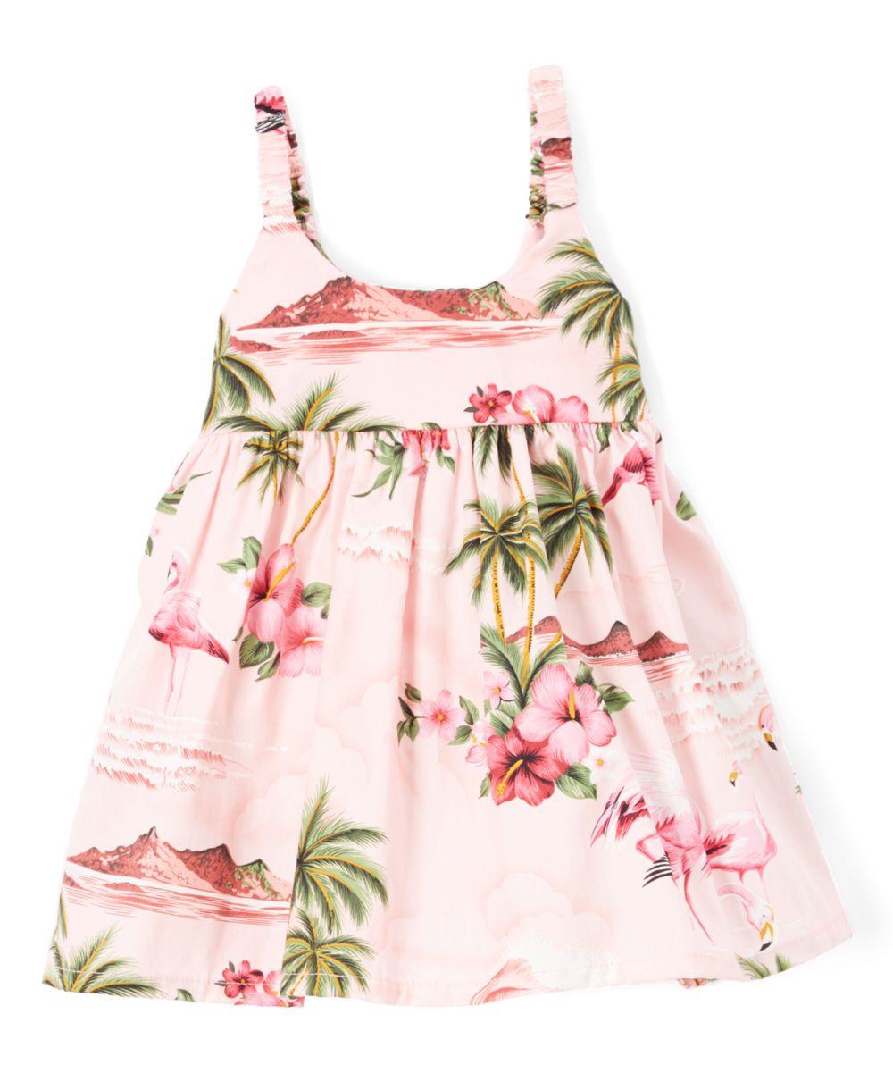 Pink Floral Dress - Toddler