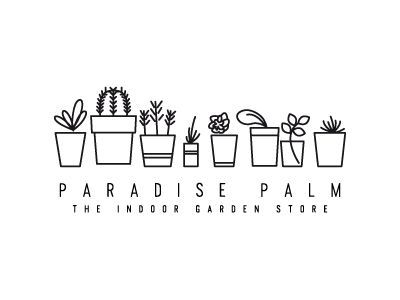 Palm Simple line icon -- would be cute with kitchen gadgets and foodSimple line icon -- would be cute with kitchen gadgets and food
