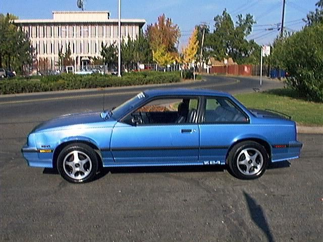 1987 Chevy Cavalier Z24 Chevrolet Cavalier Dream Cars Cool Cars