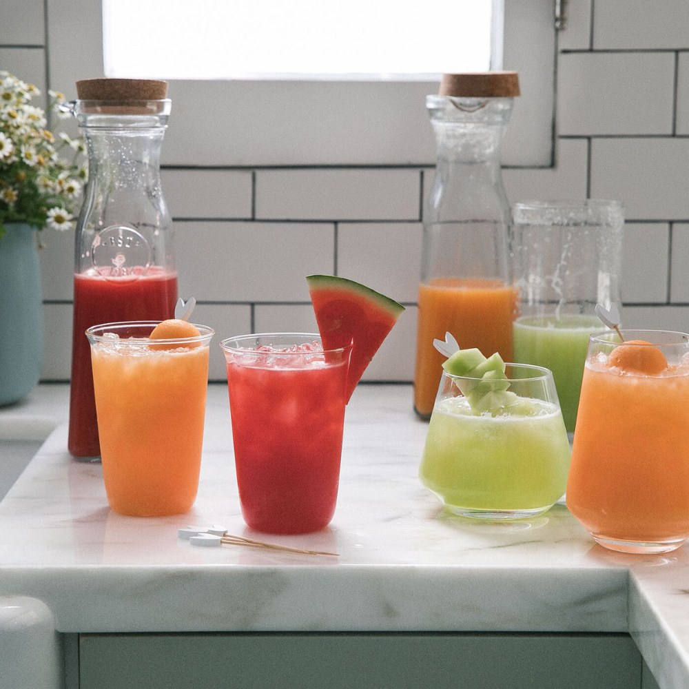 How To Make Agua Fresca Mexican Drink A Cozy Kitchen Recipe In 2020 Agua Fresca Mexican Drinks Agua Fresca Recipe