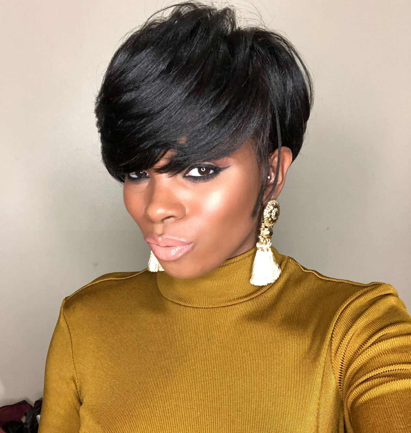 great short hairstyles for black women hair pinterest