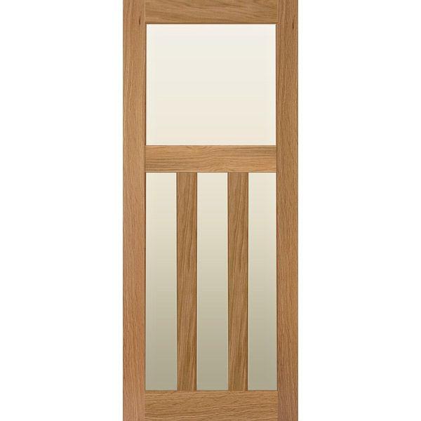 Solid Oak 1930 S Internal Door With Glazed Oak Doors Solid Oak Doors Wood Doors Interior