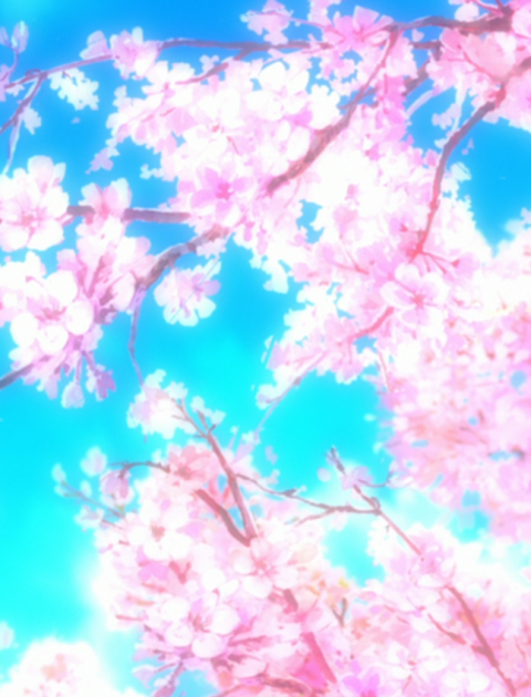 30+ Anime Cherry Blossom Tree  PNG