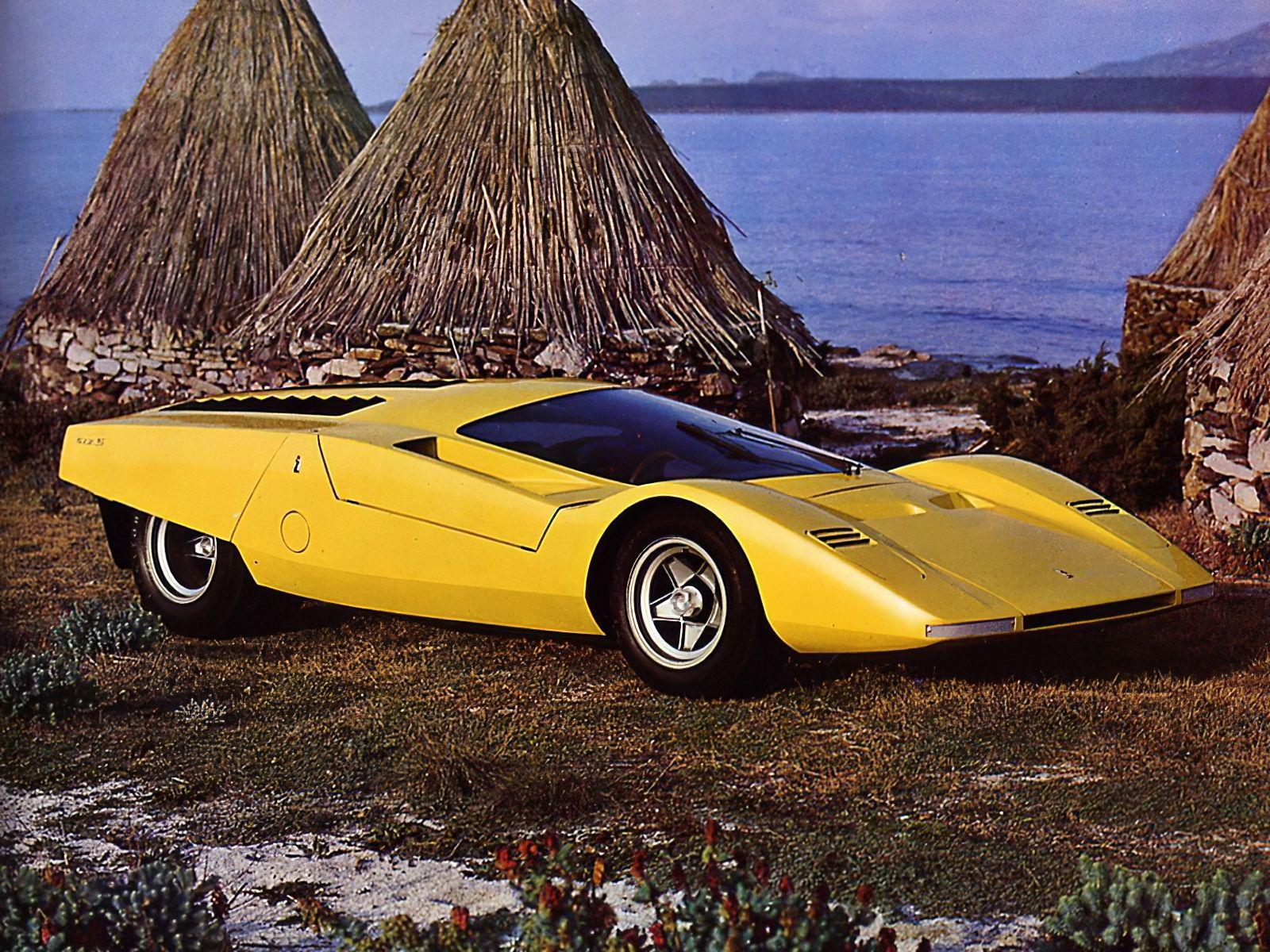 1969 Ferrari 512 S Berlinetta Speciale Concept Pininfarina Ferrari Konzeptfahrzeuge Sportwagen