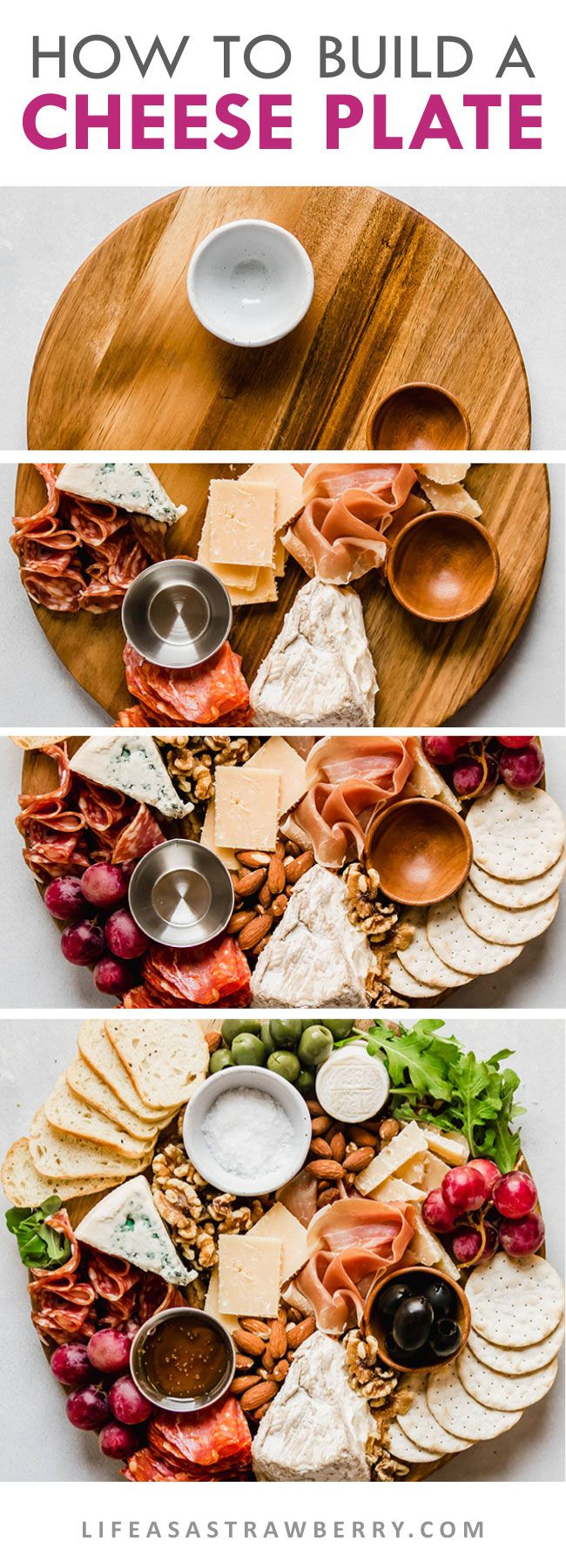 How to Make a Cheese Plate (with step-by-step photos!)