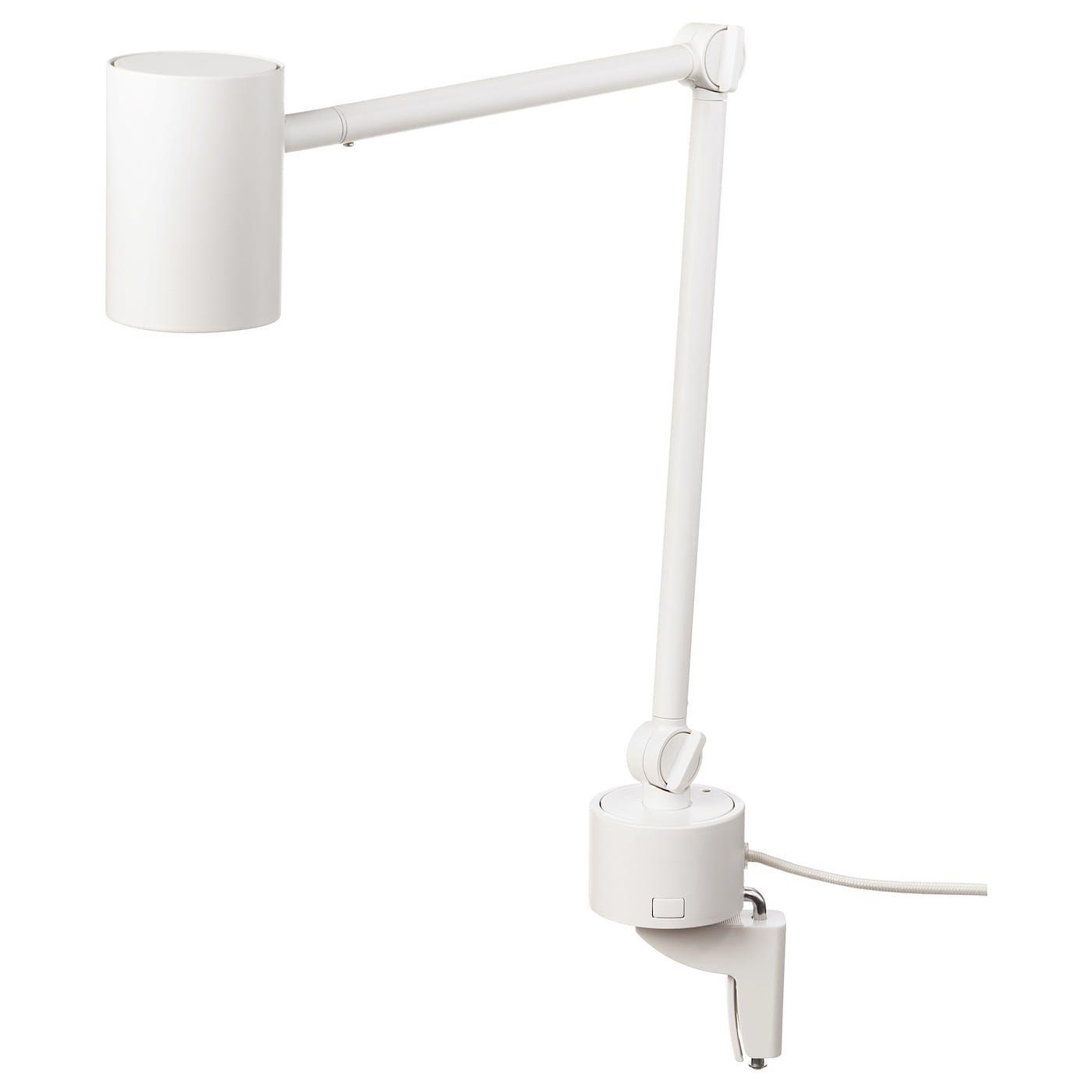 Nymane Arbeits Wandleuchte Weiss Ikea Deutschland Wall Lamp Lamp Work Lamp