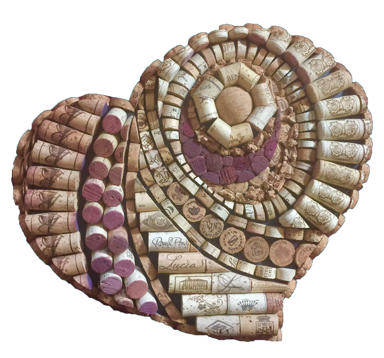 For those who would like to make your own wine cork artwork here for those who would like to make your own wine cork artwork here are three patterns you can choose from do it yourself kits use your own wine corks to solutioingenieria Gallery