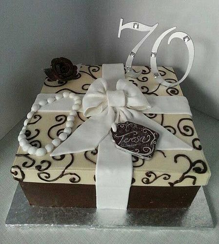Chocolate Gift Box Birthday Cake Willi Probst Bakery