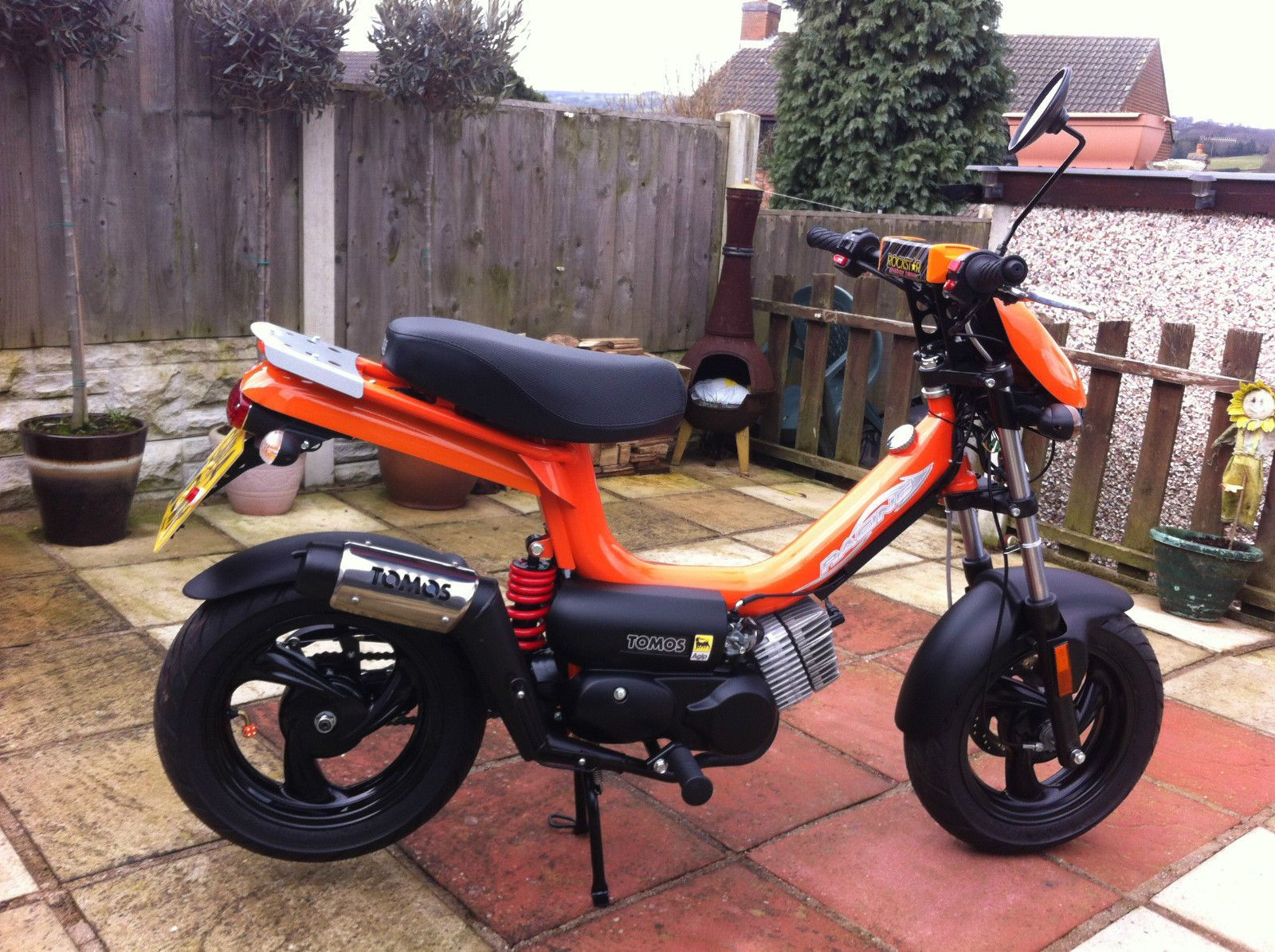 Tomos Racing 50cc Moped 14 Plate 76 Miles Look Look Look Motos Escuela