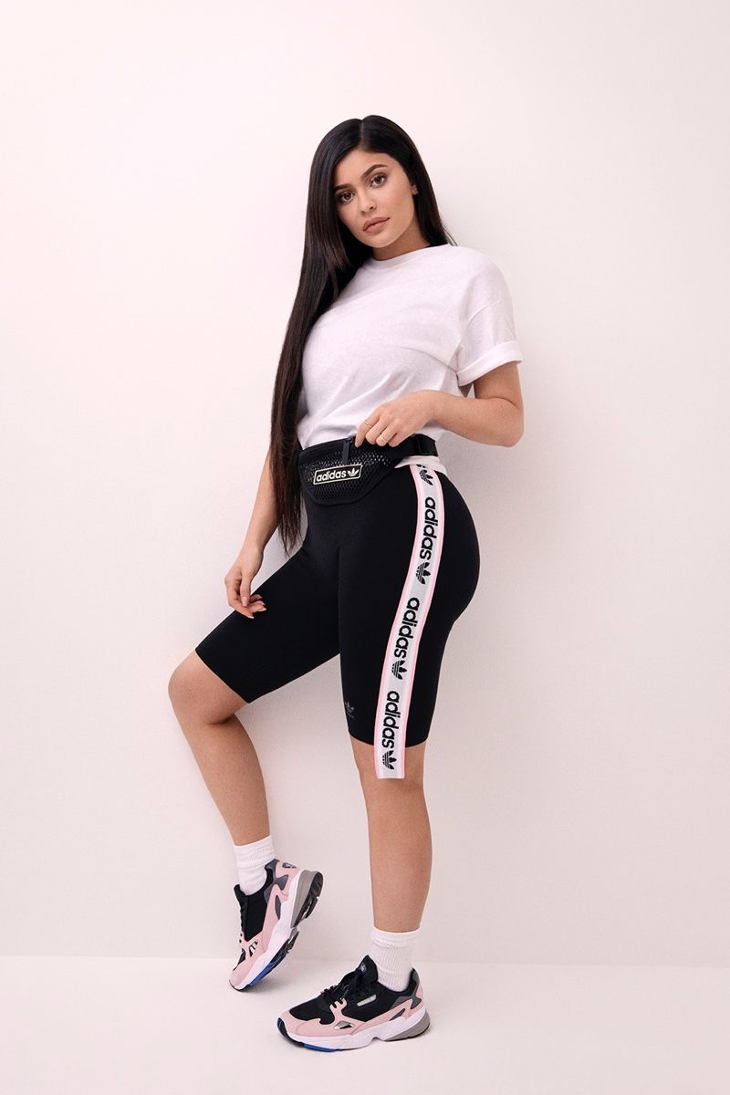 Kylie Jenner Brings Back a 90's Classic with Adidas 'Falcon ...