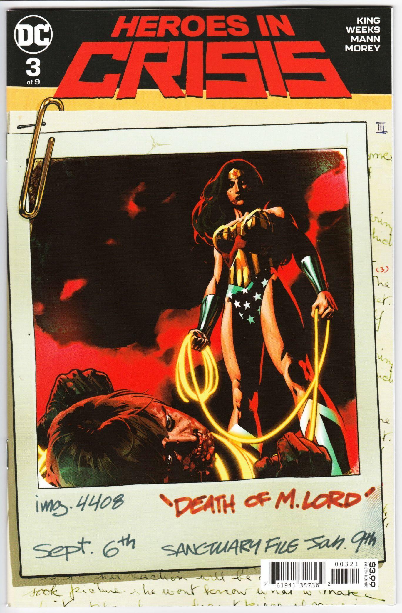 Heroes in Crisis #3 First Print NM DC Comics 2018
