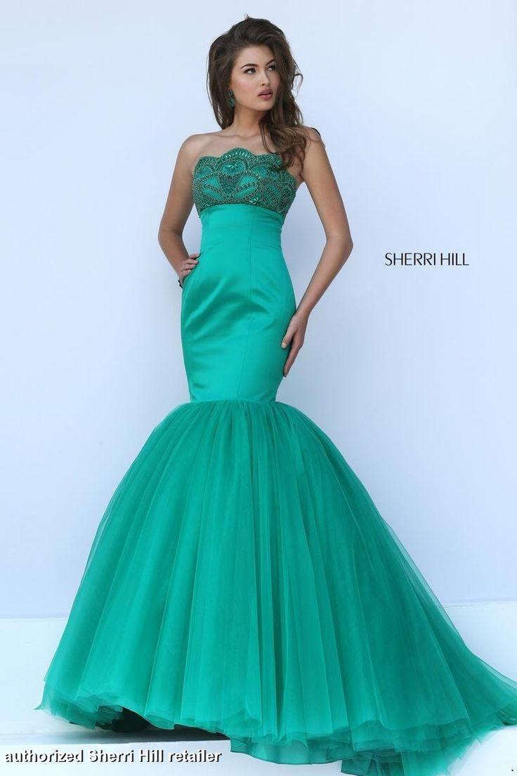 50020 Sherri Hill. Mermaid style prom dress. Sherri Hill prom. prom ...