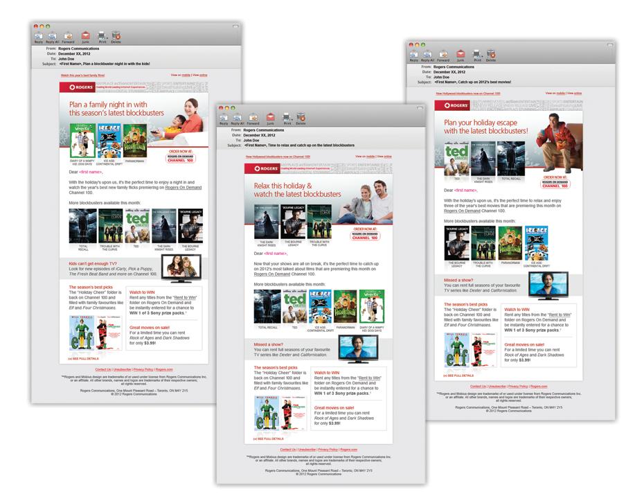 Rogers EmailMarketing Email marketing, Design, Online