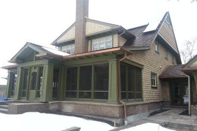 columns, porch, veranda, cornice molding, porch ceiling, exterior ...