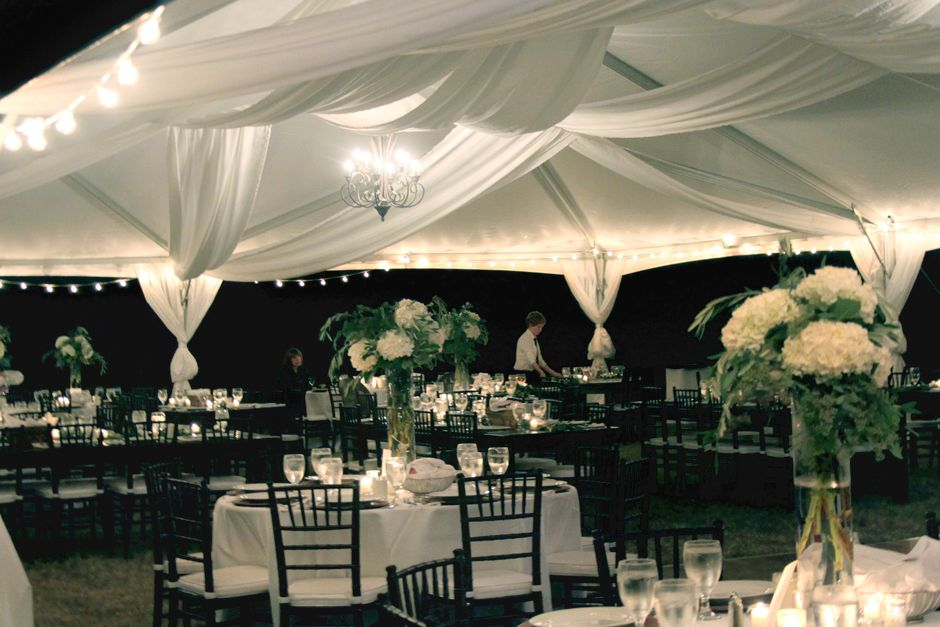 Frame Tents Oconee Events Athens Wedding Tent Party Als Farmhouse Tables