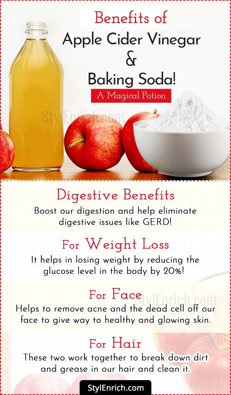 Apple Cider Vinegar And Baking Soda Apple Cider Benefits Baking Soda Water Baking Soda Bath