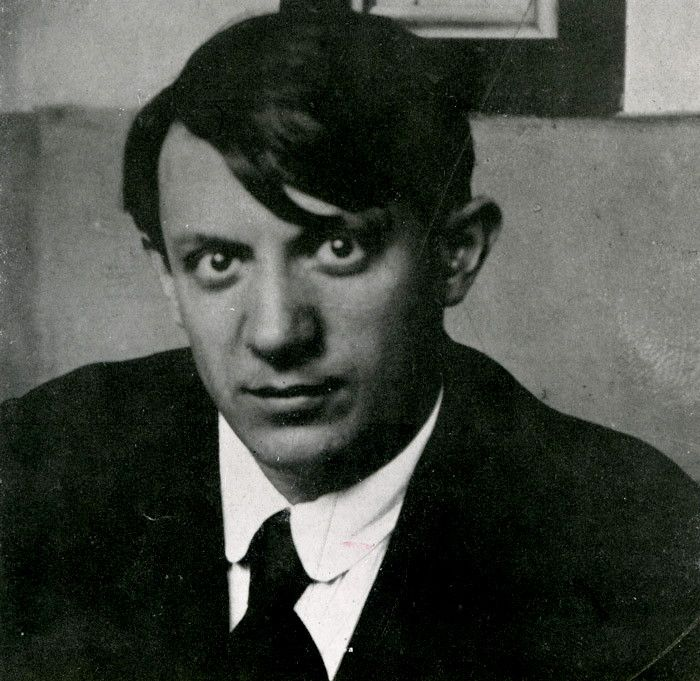 Pablo Picasso As A Young Man