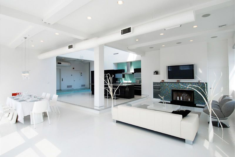 Room  10 Cool White Room Design Inspirations