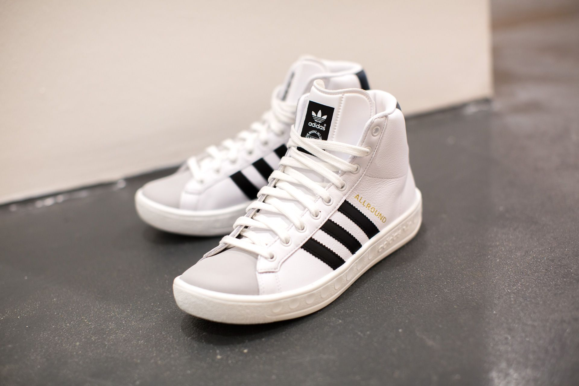 adidas originals allround black high top trainers