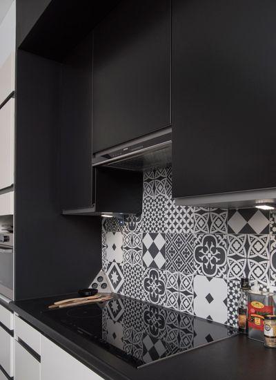 Black White Architecte Interieur Decoration De Cuisine