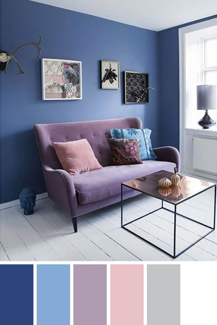 Staggering Living Room Color Schemes With Navy Blue Living Room Color Schemes Blue Living Room Color Room Color Schemes Living room elegant colors