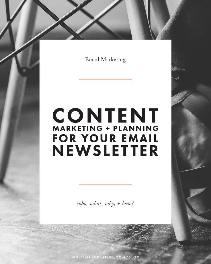 Email Newsletter Content What Why And How  Email Newsletters